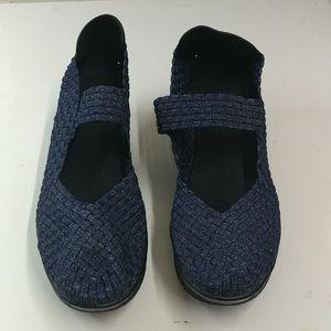 Dark Blue Bernie Mev slip-on Shoes size 12
